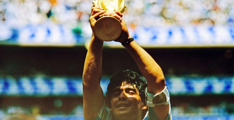 Ex-coach Argentinië weet niet van overlijden Maradona: 'TV-kabel doorgesneden'