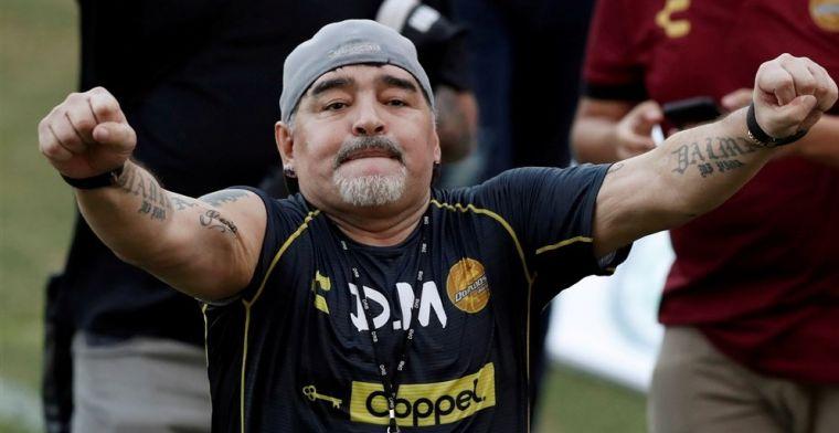 'Fouten' rond dood van Maradona: 'Crimineel, ambulance deed er een half uur over'