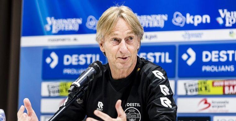 Willem II breekt contract Koster open: 'De club voegt de daad bij het woord'