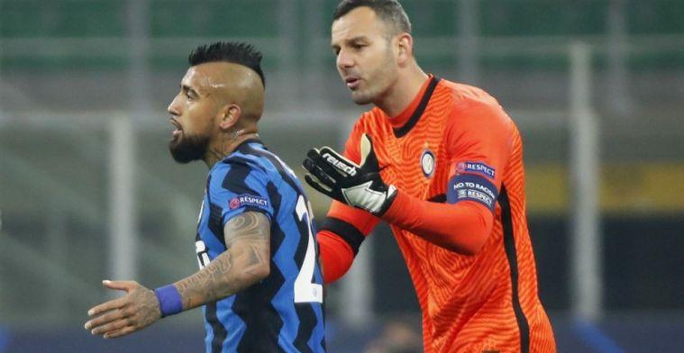 'Clubleiding van Inter beboet Vidal en twijfelt over aanblijven van coach Conte'