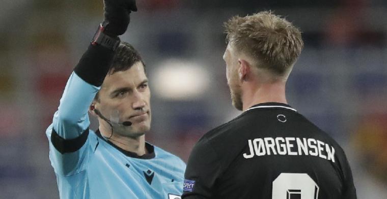 'Dit is tekenend voor de situatie waarin Jörgensen zit bij Feyenoord'