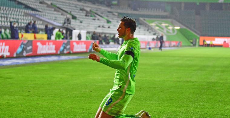 Weghorst is weer goud waard voor Wolfsburg in waar doelpuntenfestijn