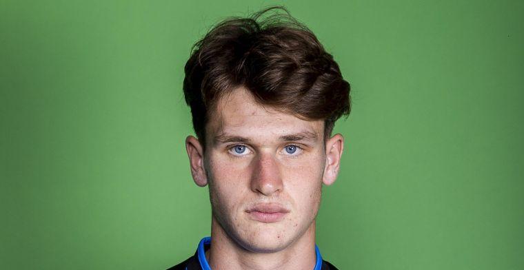 Baeten (18) laat zich zien bij Club Brugge: Nu weten we hoe het moet