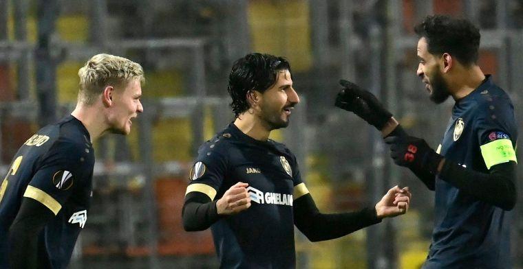 Antwerp zet grote stap in Europa League: 'Onderling resultaat belangrijk'
