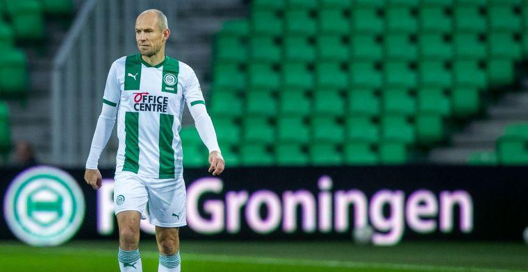 Robben is op de weg terug: 'Hij traint weer kleine stukjes mee'