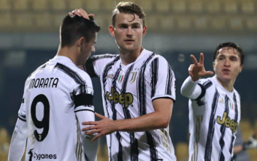 Afbeelding: Vijfde gelijkspel in Serie A voor Juventus en De Ligt, averij in strijd om titel