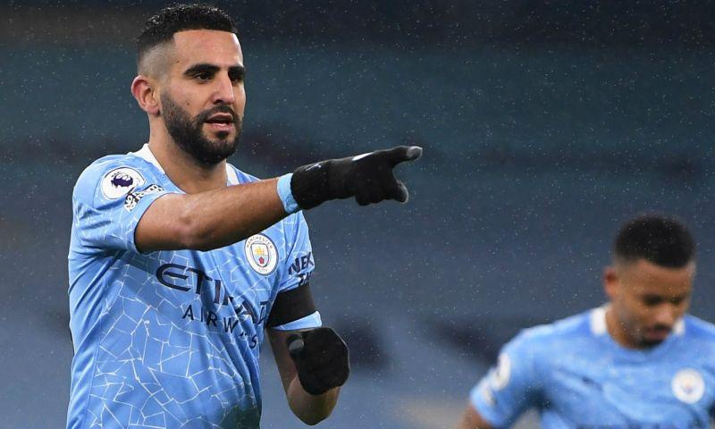 Afbeelding: Manchester City speelt frustraties van zich af: hattrick Mahrez tegen Burnley