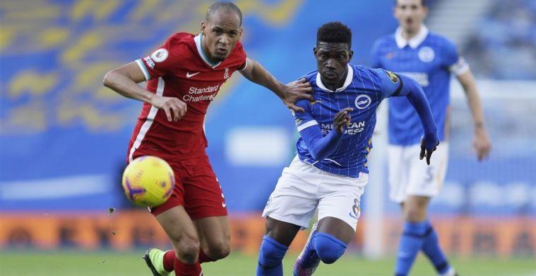 Liverpool geeft de overwinning in blessuretijd weg en verliest Milner