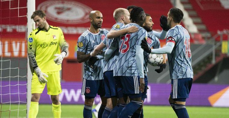 LIVE: oppermachtig Ajax tankt extra vertrouwen richting 'Liverpool' (gesloten)