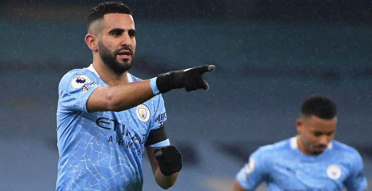 Man City speelt frustraties van zich af: hattrick Mahrez, De Bruyne met assists