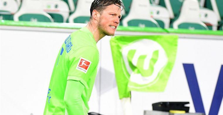 Duitse pers ziet emoties bij Weghorst: 'Hij gaf de cornervlag een kopstoot'