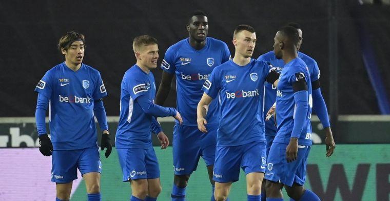 KRC Genk stuurt Cercle Brugge met schaamrood op de wangen van het veld af