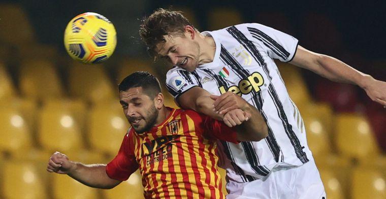 Complimenten voor De Ligt na averij Juventus: 'Hij is nog steeds een muur'
