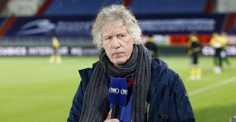 Verbeek over imago: 'Dat doet iedere coach, maar bij mij laten ze dat zien op tv'
