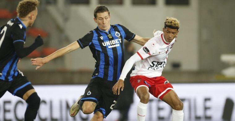Club Brugge stelt teleur tegen Moeskroen: 'Dit is amateurvoetbal'