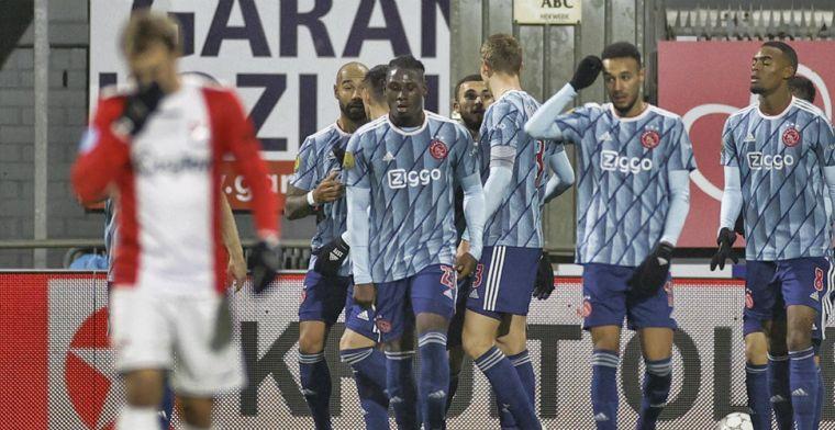 Oppermachtig Ajax overklast Emmen en kan met goed gevoel richting Liverpool