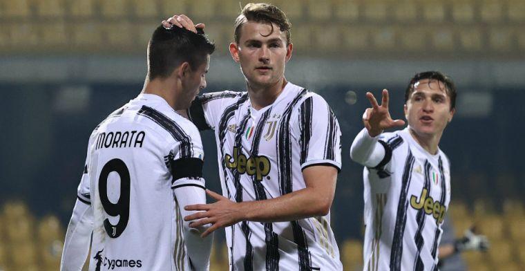 Vijfde gelijkspel in Serie A voor Juventus en De Ligt, averij in strijd om titel