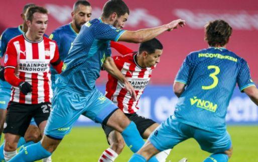 LIVE: PSV heeft veel geluk en worstelt zich langs Sparta (gesloten)