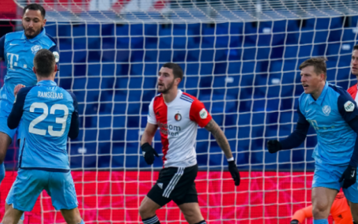 Afbeelding: Oppermachtig FC Utrecht krijgt met een punt veel te weinig in De Kuip