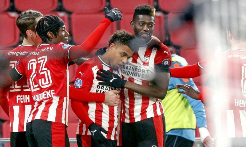 Afbeelding: Zeer matig PSV mag niet klagen: overwinning op Sparta na gelukje voor Malen