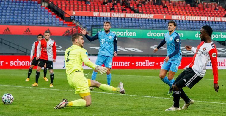 LIVE: Feyenoord vanuit het niets gelijk tegen sterker Utrecht (gesloten)