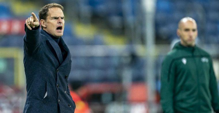 Oranje-bondscoach De Boer staat er positief in: 'Hopelijk kan hij het EK redden'