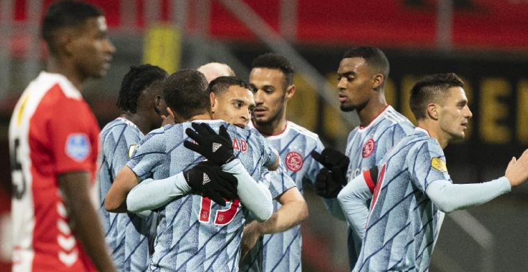 Ajax-spelers juichen niet na maken doelpunt: Dat zegt eigenlijk al genoeg