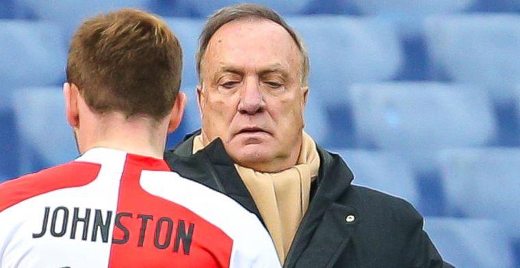 'Griep, diarree' in Feyenoord-defensie: 'Johnston moet nu: geen andere keuze'