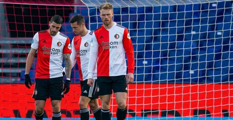 'Als de verhoudingen zo zijn als in De Kuip, dan is dat pijnlijk voor Feyenoord'