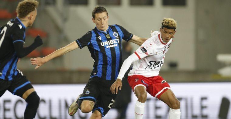 Club Brugge niet in feeststemming tegen Moeskroen, wel speciale match voor Vanaken