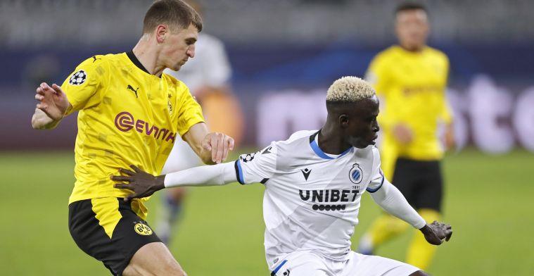 'Ploeg uit Bundesliga aast op flankaanvaller van Club Brugge'