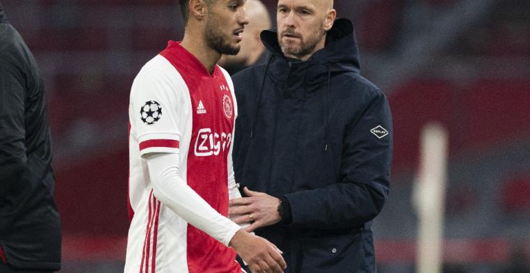 Ten Hag neemt 21 Ajax-spelers mee voor Champions League-clash met Liverpool