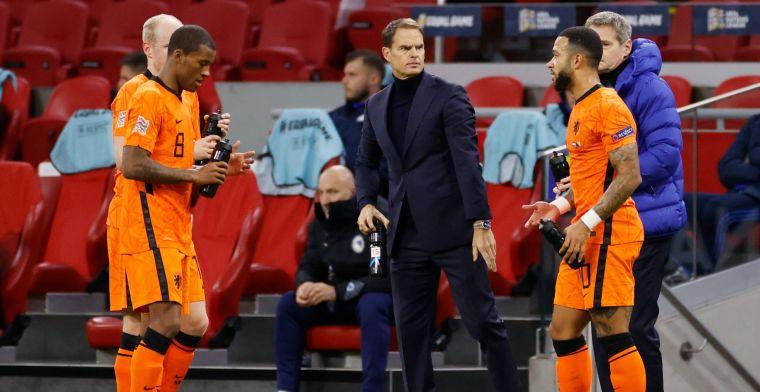 De Boer lyrisch over 'belangrijkste speler' Oranje: 'Iedereen onderschat dat'