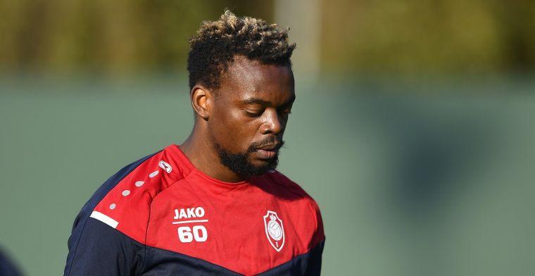 Mbenza moet wachten op debuut bij Antwerp: Keuze van de coach