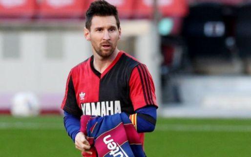 Afbeelding: Nijhuis en Jol over Maradona erende Messi: 'Wel bonje met controleurtje voor over'