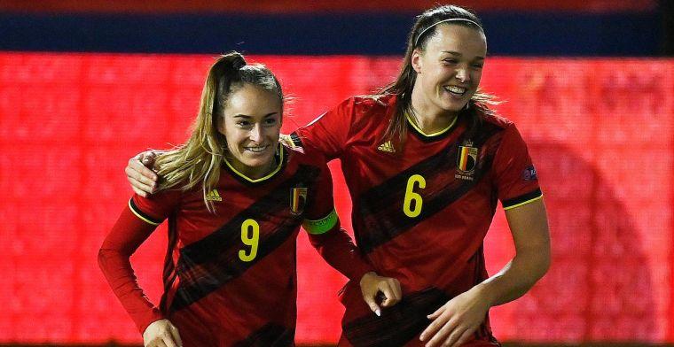 Red Flames verpletteren Zwitserland en plaatsen zich in stijl voor EK 2022