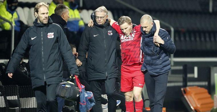 AZ krijgt slecht nieuws uit ziekenboeg: Svensson staat wekenlang aan de kant