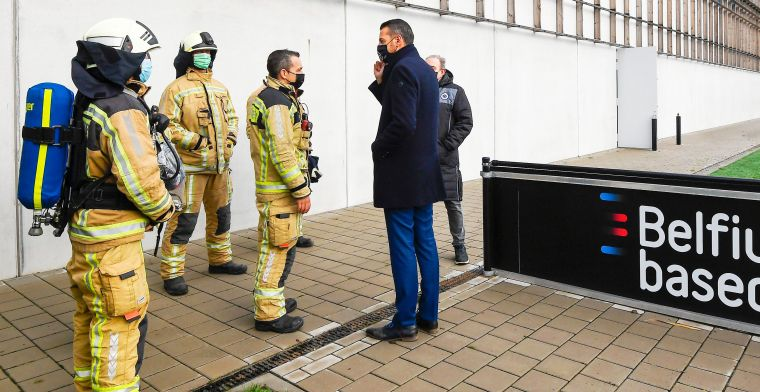 Onverwachte gasten op Basecamp van Club Brugge: 'Brandweer duikt op'