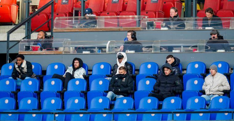 Aboutaleb hoopt op goed nieuws voor Feyenoord: 'Werk ik graag aan mee'