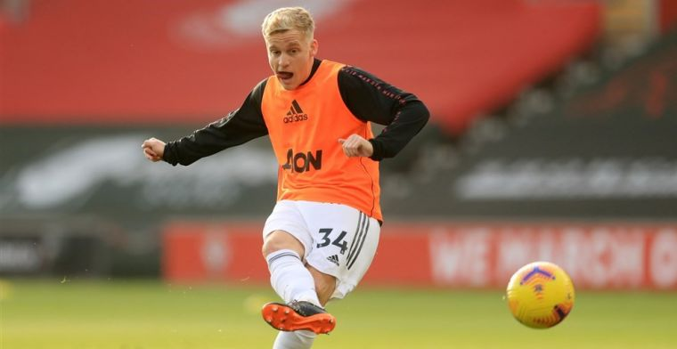 Van de Beek geniet van United-ploeggenoot: 'Door hem krijg ik meer ruimte'
