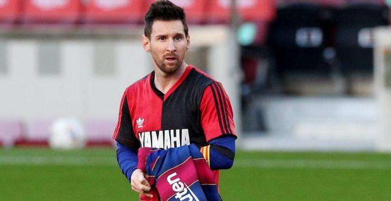 Nijhuis en Jol over Maradona erende Messi: 'Wel bonje met controleurtje voor over'