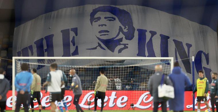UPDATE: Mertens en Napoli spelen voortaan in het Stadio Diego Armando Maradona