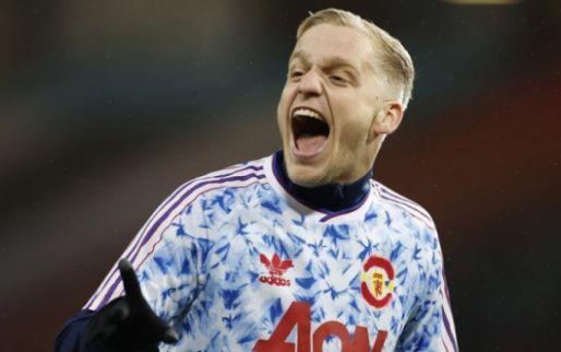 Weer degradatie voor Van de Beek bij Manchester United: 'Ik maak me zorgen'