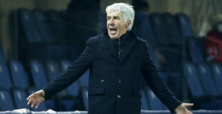 Atalanta-coach Gasperini tevreden: 'Zou groot succes zijn Ajax uit te schakelen'