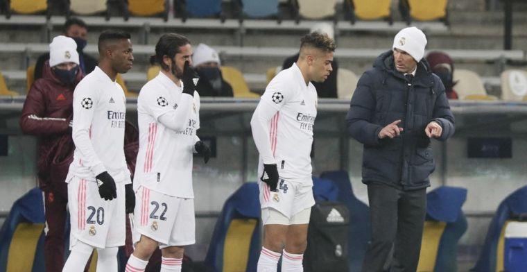 'Positie van Real Madrid-trainer Zidane wankelt: twee namen staan op lijstje'