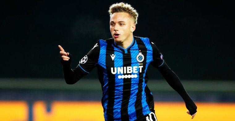 Noa Lang blijft overtuigen bij Club Brugge: Je ziet dat hij mogelijkheden heeft