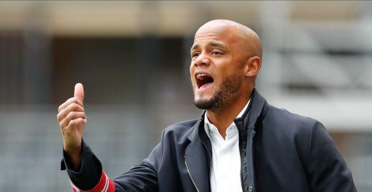 Kompany: 'Anderlecht heeft de ploeg met meeste progressiemarge in België'
