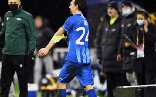 Afbeelding: KAA Gent verliest en heeft 0 op 15 in Europa League