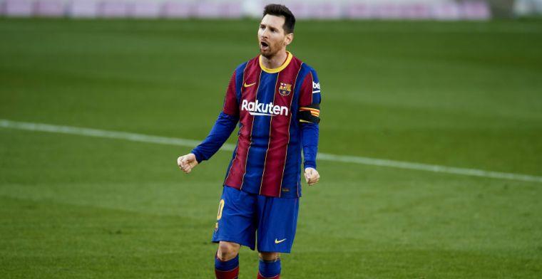 Interim-president Barça goudeerlijk: 'Ik had Messi verkocht, was beter geweest'