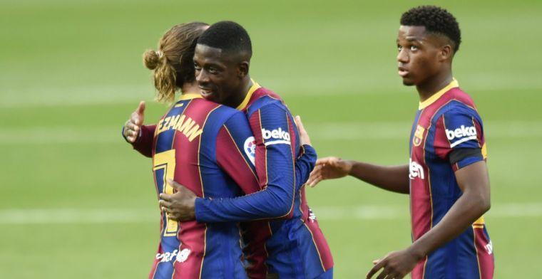 'Barça wil opgeleefde aanvaller belonen, Man United houdt situatie in de gaten'